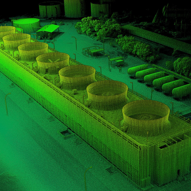 Cooling Tower As-Built LIDAR Scan