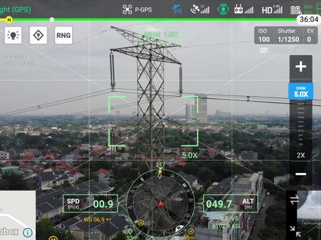 Drone DJI M300: Mimpi Terjadi Untuk Inspeksi