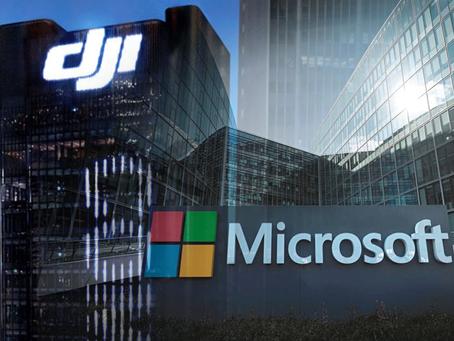 Drone Terbaru Hasil Kolaborasi DJI dan Microsoft