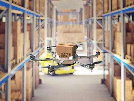 Drone Membantu Operasional Bisnis Online