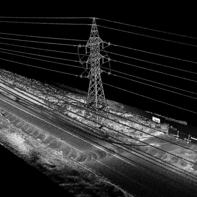 Transmission Line ROW LIDAR Mapping & Sag Analysis