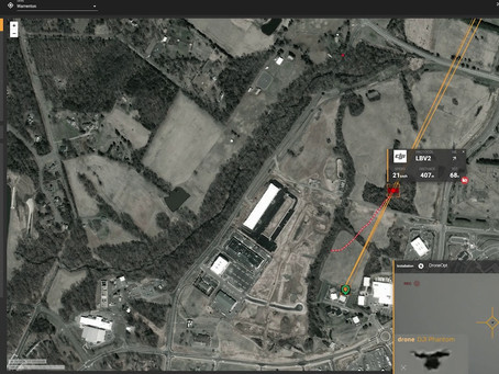 Peluncuran DroneOptID: Software Drone Dilengkapi A.I Untuk Membantu Militer Melindungi Aset Kritis