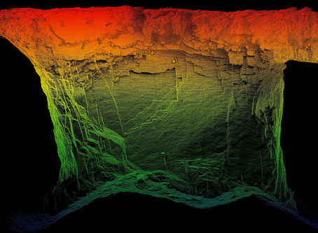 Perbandingan CMS Scanning Dengan Drone LIDAR Untuk Pertambangan Bawah Tanah