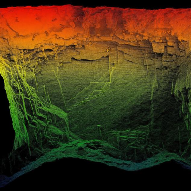 Stope - Underground Survey LIDAR CMS