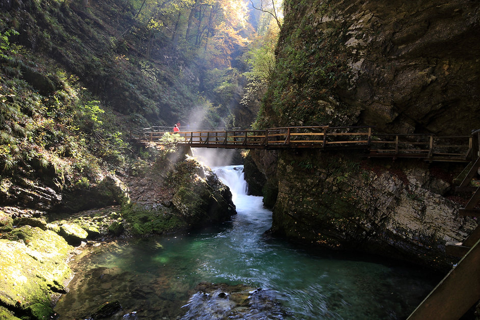 Bridge Over River