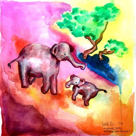 Mama Baby Rainbow Day Dream