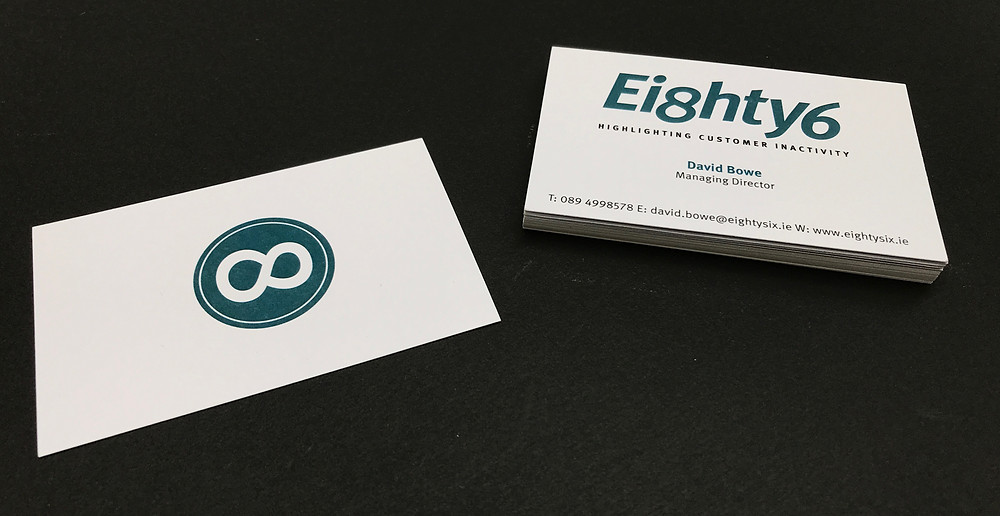 Eighty6 logo and icon design