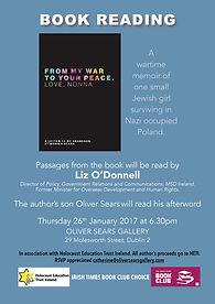 Book Reading Holocaust Memoir Monika Sea