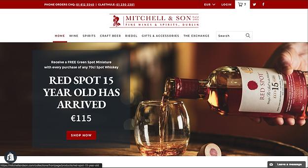 Mitchell & Son Website