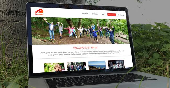 RedSquirrel - Website design and build
