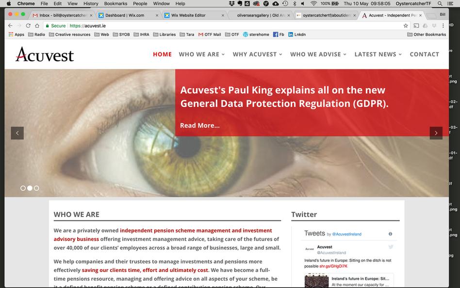 Acuvest - Web branding consultation
