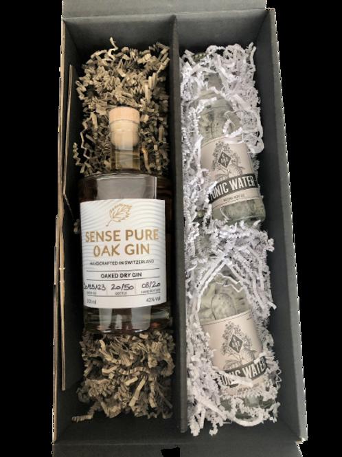 Sense Pure Oak Gin Geschenkbox