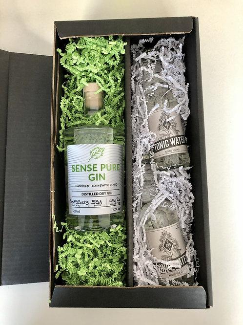 Sense Pure Dry Gin Geschenkbox