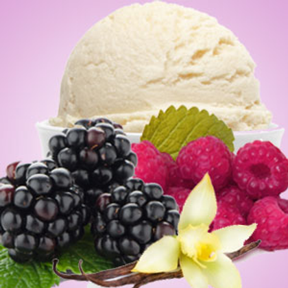 Black Raspberry Vanilla Soy Scented Candle