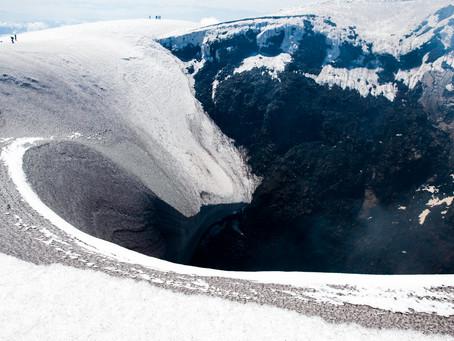 Ascension du Volcan Villarica à Pucon !