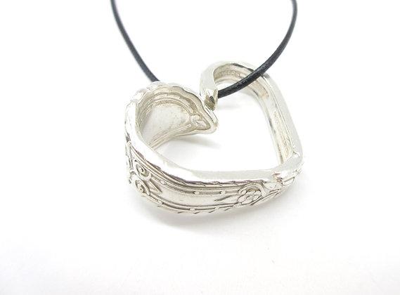 Spoon handle necklace.