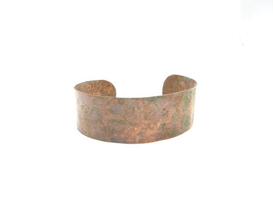 Copper cuff.