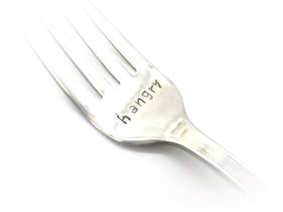 Stamped fork.