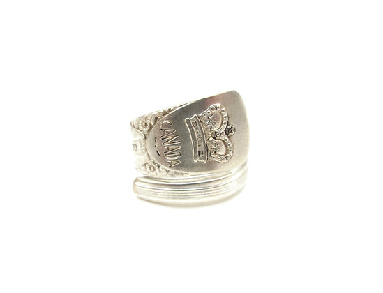 Canada spoon ring.