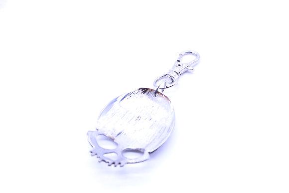 Skull keychain.