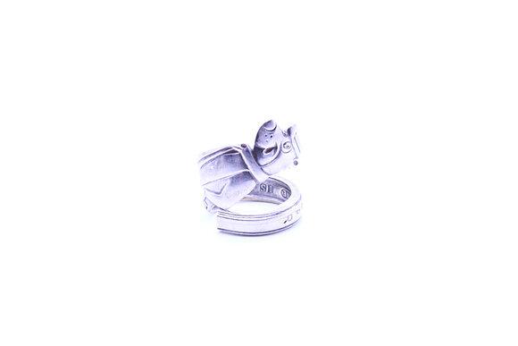 (Yogi  bear) spoon ring.