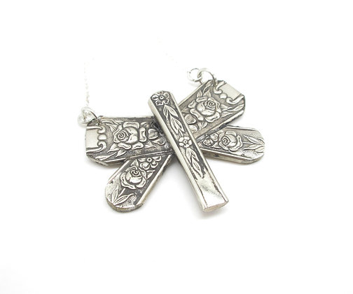 Dragonfly necklace.