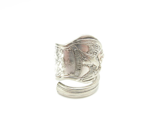 Maine spoon ring.