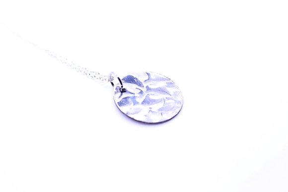 Spoon bowl necklace.