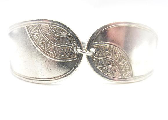 Adjustable spoon handle bracelet.