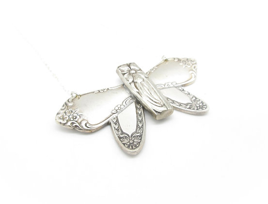 Butterfly necklace.