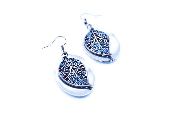 Spoon earrings.