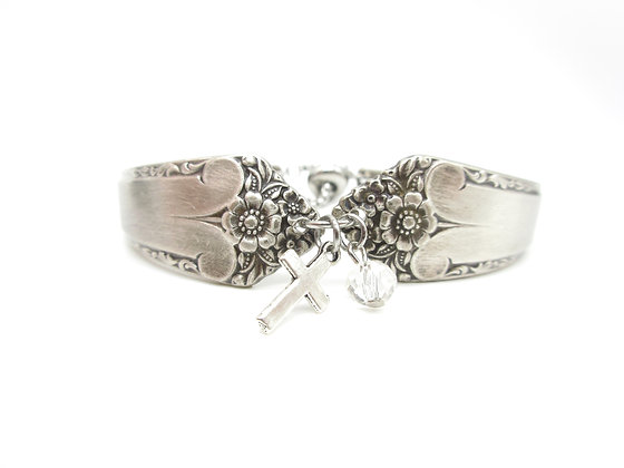Spoon handle bracelet.