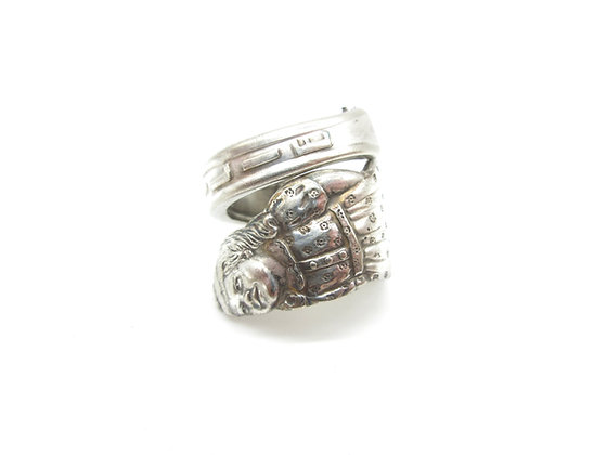Emilie spoon ring.
