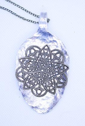 Spoon necklace.