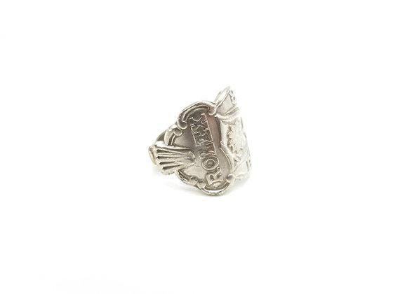 Rolex spoon ring.