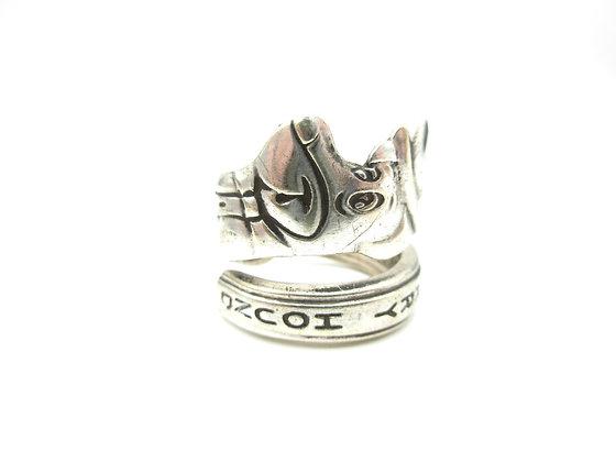 Huckleberry hound ring.