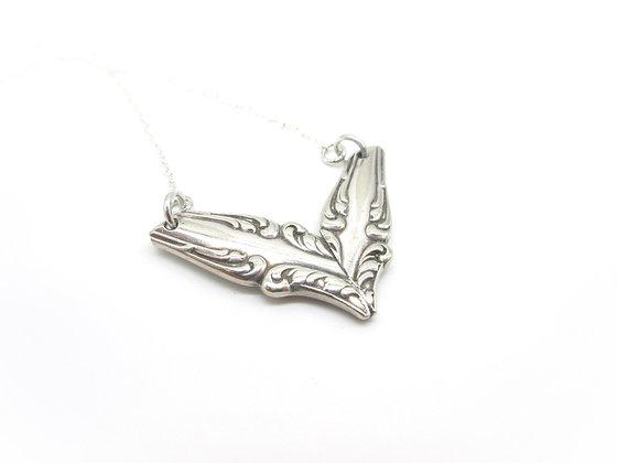Chevron necklace.