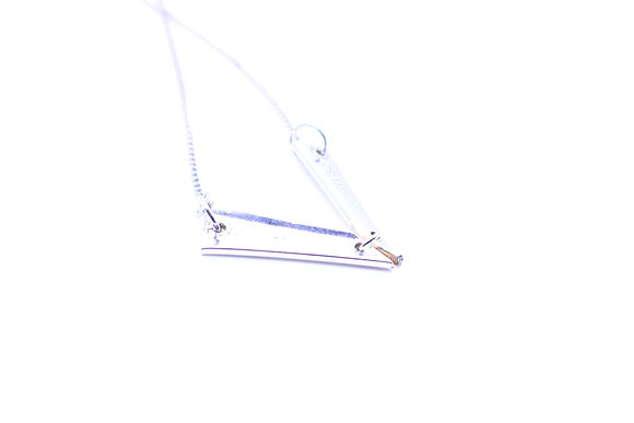 Fork handle necklace.
