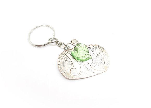Silverware tray keychain.