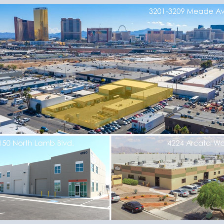 Deal Closing Announcement: Three Industrial Assets in Las Vegas, NV sold for $6,450,000