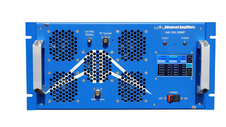 AA-12G-2KWP Solid State Pulse Amplifier