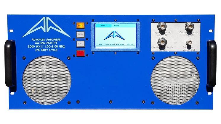 AA-12G-2KW-PT TWT Pulse Amplifier