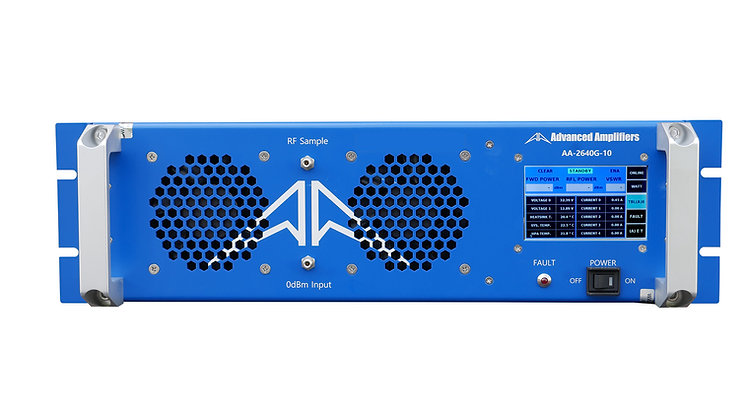 AA-2640G-10 Solid State Amplifier