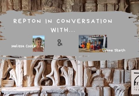 Melissa Cooke in conversation with Lynne Skeith, Repton Litfest Volunteer