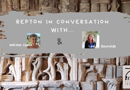 Melissa Cooke in conversation with Lesley Reynolds, Repton Litfest Organiser