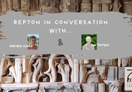 Melissa Cooke in conversation with Sue Parker, Repton Litfest Volunteer