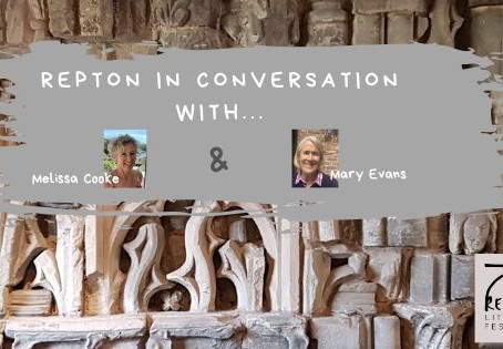Melissa Cooke in conversation With Mary Evans, Repton LitFest Volunteer