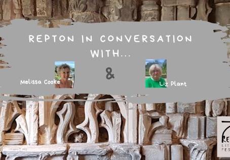 Melissa Cooke in conversation with Liz Plant, Repton LitFest Volunteer
