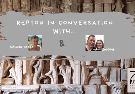 Melissa Cook in conversation with John Golding, Principal Deputy Head, Repton School
