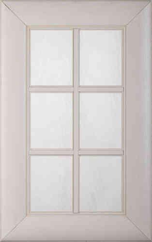 фасад с французской решеткой и стекло-го